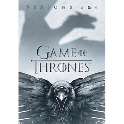 Brand New Sealed Game of Thrones: Seasons 3 and 4 (DVD, 2017)