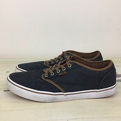 33e46502369c83 VANS ATWOOD - OFF THE WALL - Gray Canvas Classic Skate Shoes
