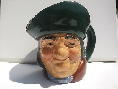 "Vintage Antique Royal Doulton Large 6"" Character Mug Toby Philpots Early A Mark"