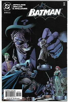 Batman #619 2Nd Print Variant Nm 2003 Jim Lee Catwoman Riddler Hush Dc Comics