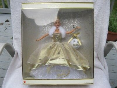 Celebration Barbie 2000 Special Edition Mattel NRFB Mint 28269 Gold Holiday