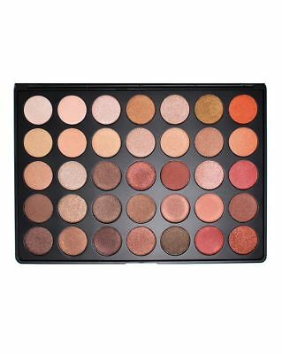 New Professional MORPHE BRUSHES 35O 350 EYESHADOW PALETTE NATURE GLOW COLOURS UK