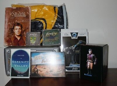 COMPLETE Firefly Loot Cargo Crate Hera Serenity Valley MAL Mini-Master All New