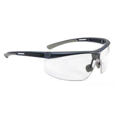 HONEYWELL NORTH Safety Glasses,Blue Frame,Narrow, T5900NBLHS