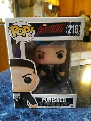 Funko Pop! Daredevil #216 Punisher Vinyl Figure