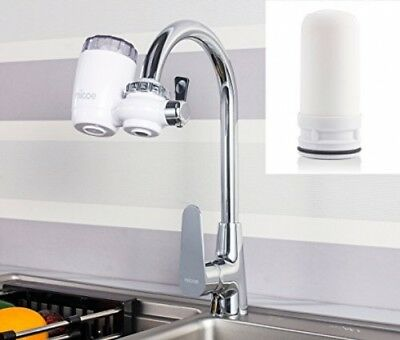 Micoe Water Purifier Filter Faucet Filtration System With Washable Ceramics