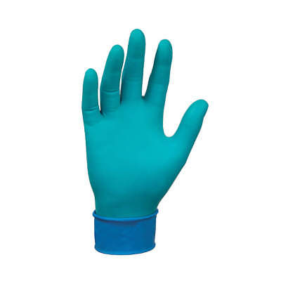MICROFLEX Chemical Resistant Gloves,Size M,PK50, 93-260, Green/Blue