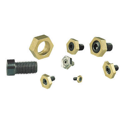 MITEE-BITE PRODUCTS INC Brass/Steel Fixture Clamps,Cam Action,1/4-20,PK10, 10204