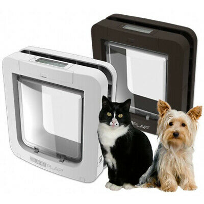 NEW - WHITE SureFlap MICROCHIP Pet Door for Cats & Small Dogs. FREE POST