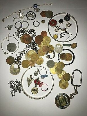 Metal Detector Finds Coins Rings Bracelet Earrings Medalions Maybe Gold Diamonds