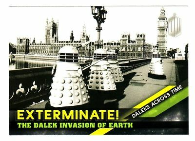 Doctor Who Timeless Exterminate Daleks Across Time Insert Card 2 Of 10