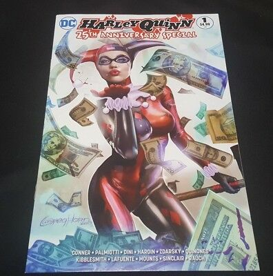 Harley Quinn Anniversary 1 Variant Greg Horn Nm- Not Batman 50 Ursa Minor