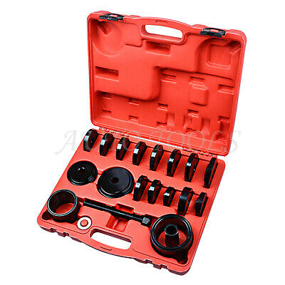 23Pcs FWD Front Wheel Drive Bearing Press Kit Removal Adapter Puller Pulley Tool