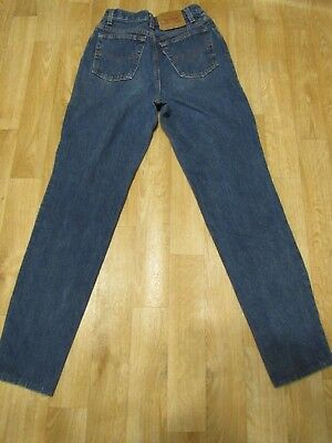 Vintage Levis 501 jeans 24 x 30  mom jeans USA blue indigo womens high rise