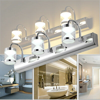 Modern Bathroom Vanity LED Light Front Makeup Mirror Toilet Wall Lamp Fixture