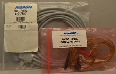 Nonin 8800 ECG Cable & Lead Wires ++ NEW ++