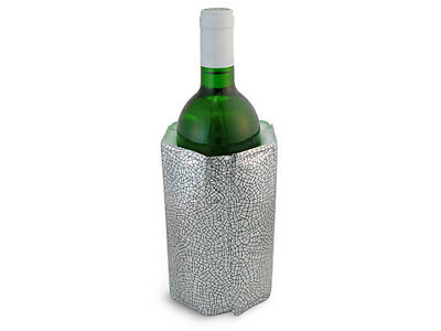 NEW Vacu Vin Rapid Ice Wine Cooler Silver