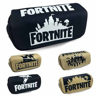 Fortnite Pen Pencil Case  Drucken Mäppchen PS4 Game Kid School Bag for Girl Boy