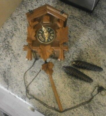 Black Forest Cuckoo Clock Regula gm 1884288 1892176 25-74 made in west germany