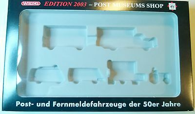 WIKING Edition 2003 PMS 80-07 leere Box Schachtel Set Packung POST MUSEUMS SHOP