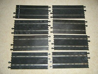 Vintage classic Scalextric slot car straight track X 8 PT/60