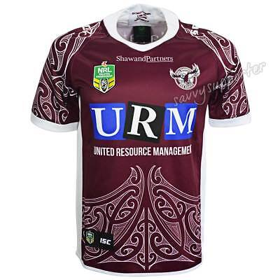 Manly Sea Eagles 2018 NRL Special Edition Maori Jersey Sizes S-7XL BNWT