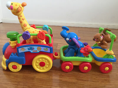 Fisher Price Amazing Animals - Sing and Go Choo-Choo Train