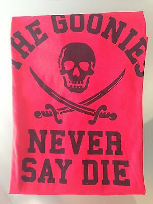 T-shirt film LES GOONIES - Never Say Die (Neuf, taille M)