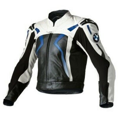 timeless design 1ff42 cd4ce BMW MOTO GIACCA in Pelle per Motociclisti Giacca in Pelle da Motociclista