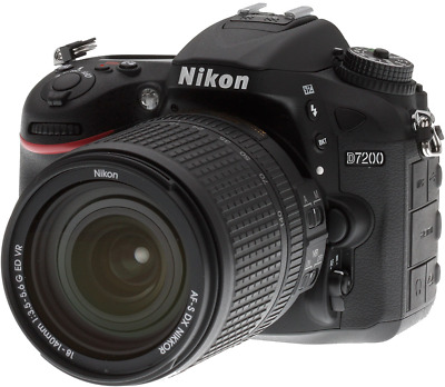 NEW Nikon  D7200 24.2 MP Digital SLR Camera Black (Body Only)
