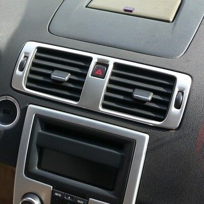 Central dash air condition AC Vent control frame cover for Volvo S40 C30 V50 C70
