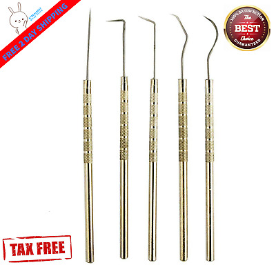 Vinyl Weeding Pick Tools 5pc Stainless Steel Professional Sign / Signmaking USA