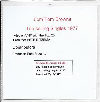 72bbc05bc1 CD 395. BBC Radio 1 .Tom Browne