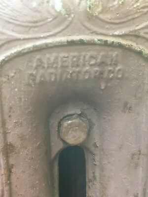 Antique Cast Iron Steam Radiators from Original General Store, varying dimension