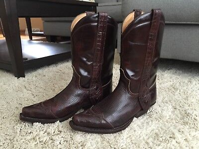 8a1f37afb72 PREOWNED MEN'S SENDRA Cowboy Western Boots Size 9.5