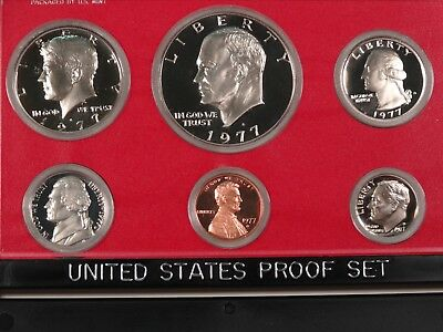 1977-S Clad U.S. Mint Proof Set – Original US Mint Box