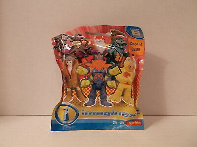2016 Fisher Price Imanginext Figures Blind Bag Series 6 4-Armed Alien MIP