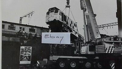 1985 Stoke Station Railway Train Crash - Rp Postcard.