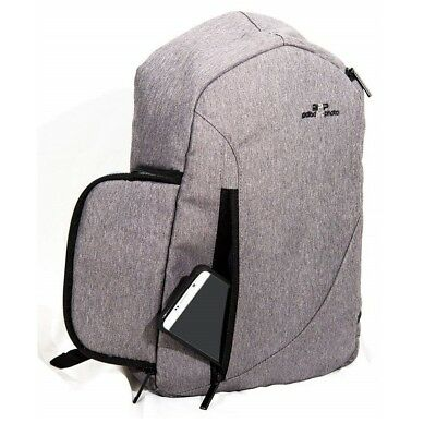 PoladProPhoto Sling Backpack Camera Bag For Camera With Waterproof Rain Cover