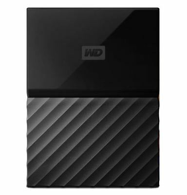 "WD My Passport 2TB USB 3 0 2.5"" Portable External Hard Drive Black HDD"