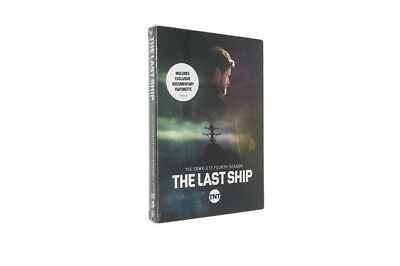 The Last Ship: The Complete Fourth Season 4 (DVD,2018 3-Disc Set)