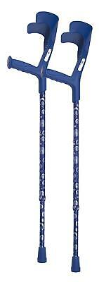 Switch Sticks European Crutches with Ocean Design (Only 1)