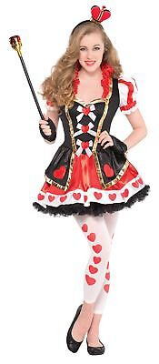 Queen of Hearts Costume Age 14-16 Years (B2v)