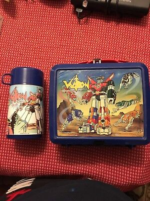 "Aladdin Oem Original 1984 ""voltron"" Lunchbox Sticker-Never On Box-Extremely Rare"