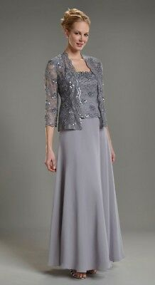 Mother Of The Bridegroom Missy Dress Long Evening Gown W Jacket