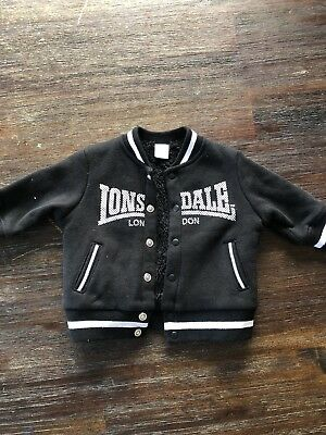 Baby lonsdale jacket