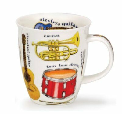 """Tazza DUNOON Nevis Immagine """"Making Music Drums"""" (j0n)"""