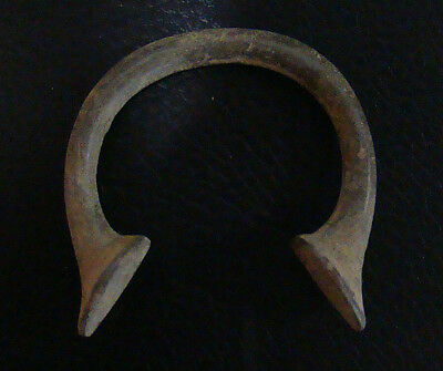 """Cameroon Type """"onoudu"""" Manilla Slave Trade Bracelet Odd And Curious Money"""
