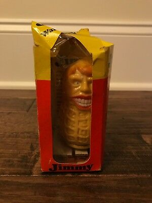 """1970s Vintage """"JIMMY THE WALKING PEANUT"""" (JIMMY CARTER) Wind-Up Toy, RARE!"""