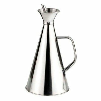 Happy Friends - Oliera Salvagoccia - Acciaio Inox - 250 ml (a2t)